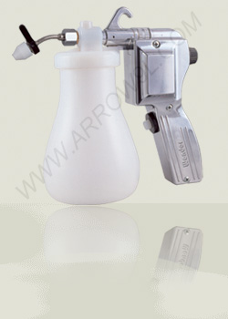 textile cleaning spray gun metalic body